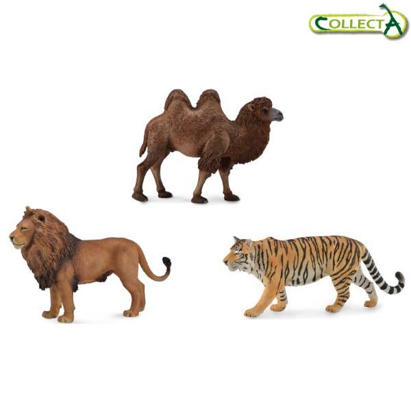 小牛津 collectA動物模型-陸地動物系列 英國高擬真模型-4款可選【佳兒園婦幼館】