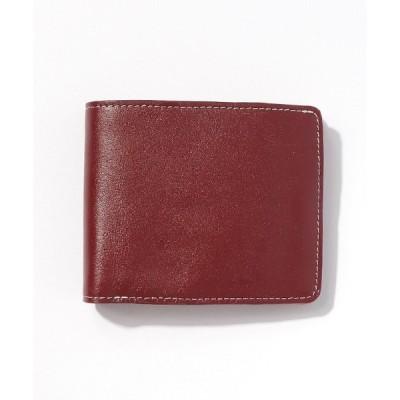 財布 牛本革二つ折り財布