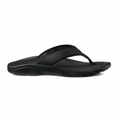 オルカイ OluKai メンズ サンダル シューズ・靴 Ohana Sandal Black/Black