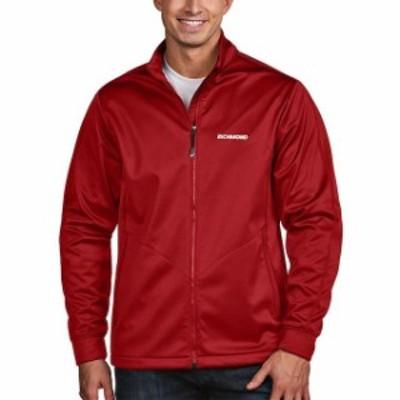 Antigua アンティグア スポーツ用品  Antigua Red Richmond Raceway Golf Full-Zip Jacket