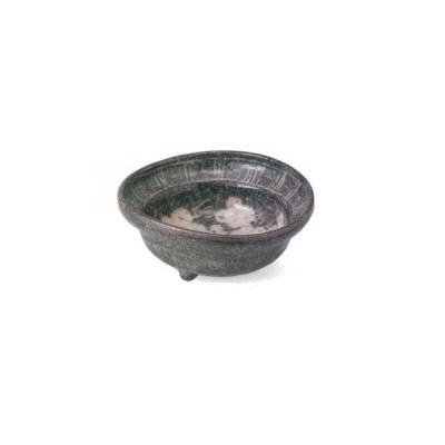 美濃焼 鼠志野ブドウ三足 小鉢