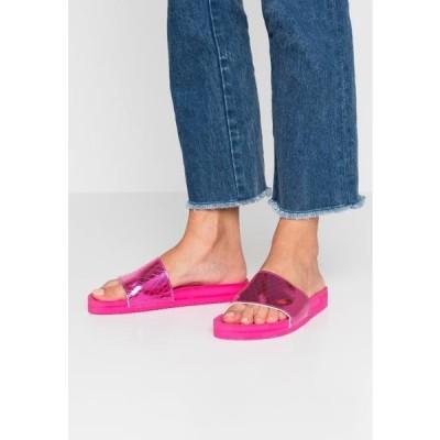 フリップフロップ レディース 靴 シューズ POOL - Mules - very pink
