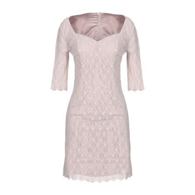 MARCIANO ミニワンピース&ドレス パステルピンク 44 コットン 70% / ナイロン 30% ミニワンピース&ドレス