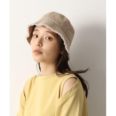 mysty woman / フリンジバケットハット 938581 WOMEN 帽子 > ハット