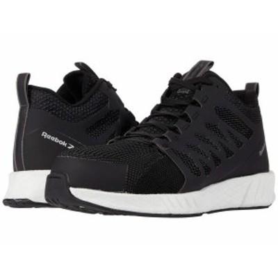 リーボック メンズ スニーカー シューズ Fusion Flexweave¢ Work Composite Toe Black/White