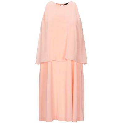 テッサ .TESSA ミニワンピース&ドレス サーモンピンク 42 ポリエステル 100% ミニワンピース&ドレス