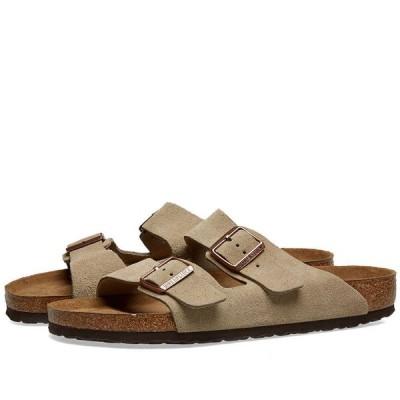 ビルケンシュトック Birkenstock メンズ サンダル シューズ・靴 Arizona SFB Taupe Suede