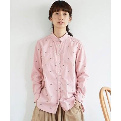シャツ ブラウス サニークラウズ 桜餅シャツ〈レディース〉