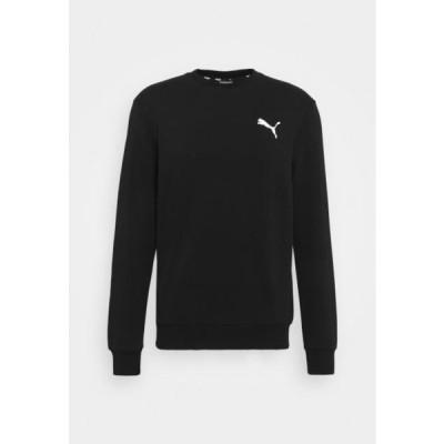 プーマ メンズ スポーツ用品 SMALL LOGO CREW - Sweatshirt - black