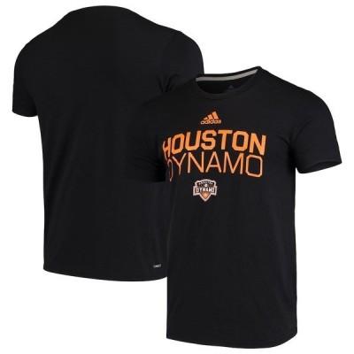 アディダス メンズ Tシャツ トップス Houston Dynamo adidas Locker Stacked climalite Short Sleeve T-Shirt