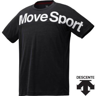 ◆◆○送料無料 メール便発送 <デサント> メンズ サンスクリーンTシャツ杢 DMMPJA56 (BKM) 半袖Tシャツ DMMPJA56-BKM