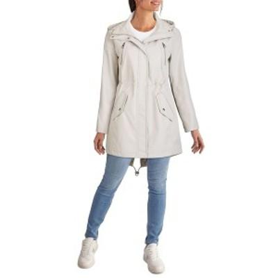 ケネスコール レディース コート アウター Women's Hooded Anorak Rain Coat Bone