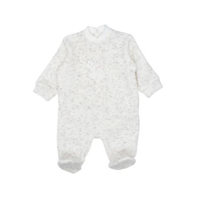 COCCODÉ 乳幼児用ロンパース ホワイト 0 コットン 80% / ナイロン 20% 乳幼児用ロンパース