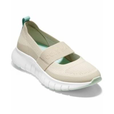 コールハーン レディース スニーカー シューズ Women's Zerogrand Flex Mary Jane Slip-On Sneakers Cement Stitchlite/ Capri Heel Loop