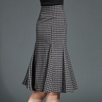 スカート大きいサイズ 40代 30代 20代 冬 春 新作 秋