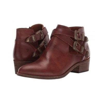 Frye フライ レディース 女性用 シューズ 靴 ブーツ アンクル ショートブーツ Ray Western Shootie - Cognac