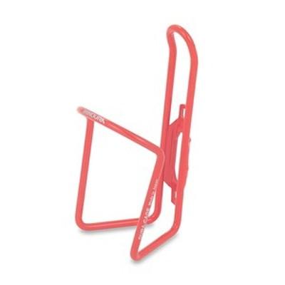 ミノウラ 自転車アクセサリー Dura-Cage ジュラルミンボトルケージ ボルト無 AB100-5.5   Pレッド