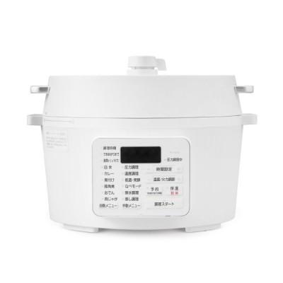 アイリスオーヤマ 電気圧力鍋 4.0L PC-MA4-W