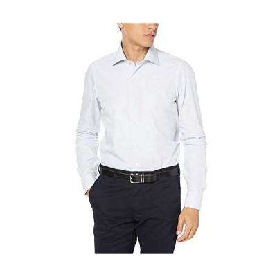 [ルイジ ボレッリ] 10000 コットンセミワイドカラーシャツ メンズ 10 ホワイト EU 41 (日本サイズM-L相当)