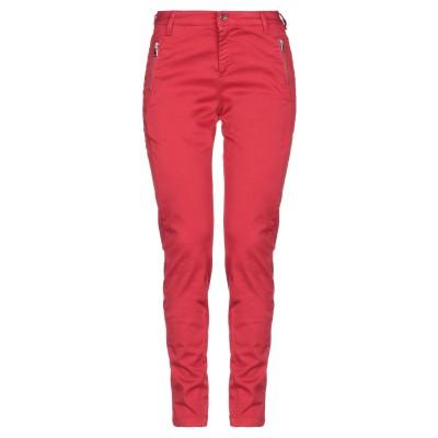 リュー ジョー LIU •JO パンツ レッド 28 コットン 96% / ポリウレタン 4% パンツ