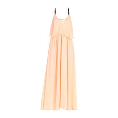 MR MASSIMO REBECCHI ロングワンピース&ドレス あんず色 46 ポリエステル 100% ロングワンピース&ドレス