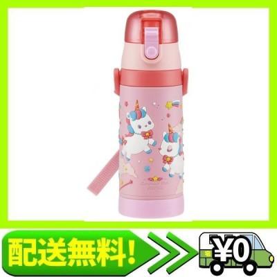 スケーター 子供用 直飲み 水筒 3D ステンレス 480ml ユニコーン SDPV5-A
