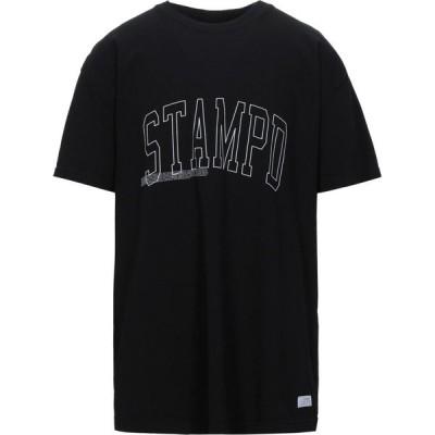 スタンプド STAMPD メンズ Tシャツ トップス T-Shirt Black