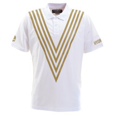 TECH VICTORY ポロシャツ TP0001 WHT/GLD