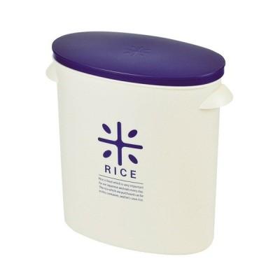 パール金属 RICE お米袋のままストック5kg用(ネイビー)