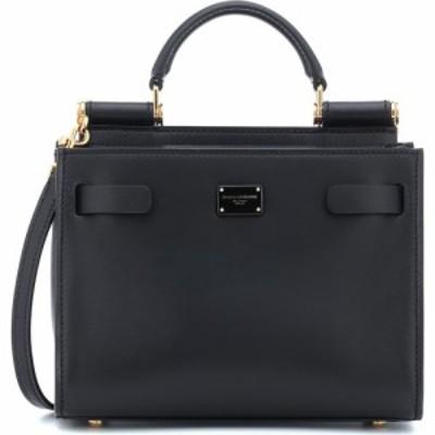 ドルチェandガッバーナ Dolce and Gabbana レディース ショルダーバッグ バッグ sicily 62 mini leather crossbody bag Black