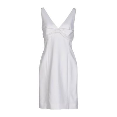 モスキーノ MOSCHINO ミニワンピース&ドレス ホワイト 42 64% トリアセテート 36% ポリエステル ミニワンピース&ドレス