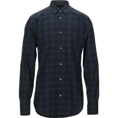 マウロ グリフォーニ MAURO GRIFONI メンズ シャツ トップス Checked Shirt Black