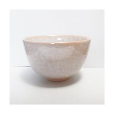 京焼 清水焼 氷裂桜磁 抹茶碗 陶仙
