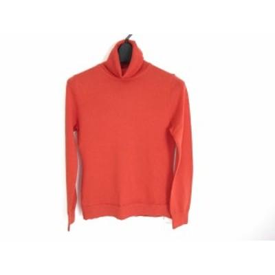 アナイ ANAYI 長袖セーター サイズ38 M レディース 美品 オレンジ タートルネック【中古】20200130