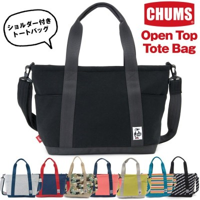 CHUMS チャムス トートバッグ オープントップ トート Open Top Tote Bag