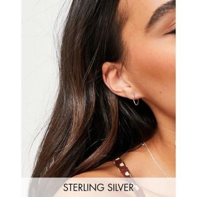 ブルームアンドベイ Bloom and Bay レディース イヤリング・ピアス フープピアス Bloom & Bay sterling silver hoop earrings シルバー