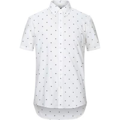 マイケル コース MICHAEL KORS MENS メンズ シャツ トップス Patterned Shirt White