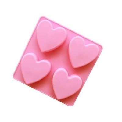 Elome(イローム) ケーキ モールド ハート シリコンモールド チョコレート 粘土 石鹸 レジン キャンドル バレンタ