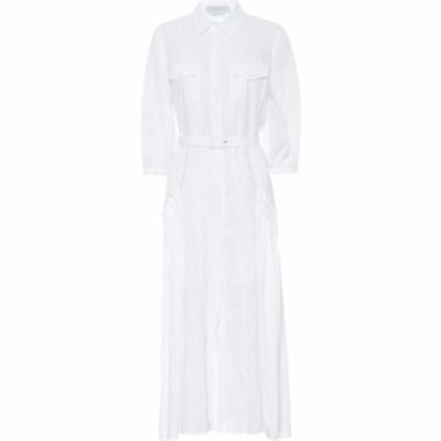 ガブリエラ ハースト Gabriela Hearst レディース ワンピース シャツワンピース ワンピース・ドレス woodward linen shirt dress White L