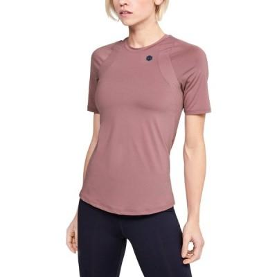 アンダーアーマー シャツ レディース トップス RUSH - Print T-shirt - bordeaux (502)