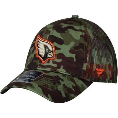 ユニセックス スポーツリーグ フットボール Arizona Cardinals NFL Pro Line by Fanatics Branded Recon Trucker Adjustable Hat - Camo -