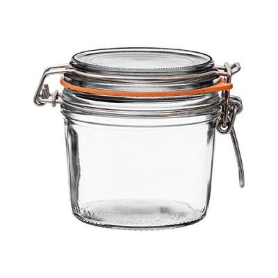 Le Parfait スーパーテリン - 350ml フレンチガラス 缶詰ジャー ストレートボディ 気密ゴムシール ガラス蓋 12オンス