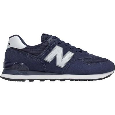 ニューバランス スニーカー シューズ メンズ New Balance Men's 574 v2 Shoes Navy/White/White