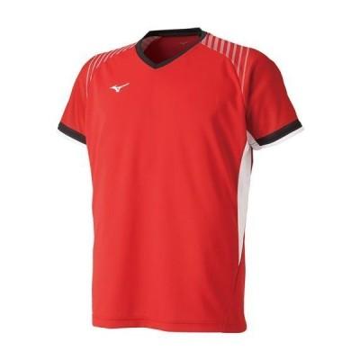 ミズノ  ミズノ ゲームシャツ(ラケットスポーツ)[ユニセックス] 62?チャイニーズレッド(72ma900562)  スポーツ用品 取り寄せ