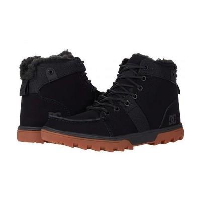 DC ディーシー メンズ 男性用 シューズ 靴 ブーツ レースアップ 編み上げ Woodland - Black/Gum 1