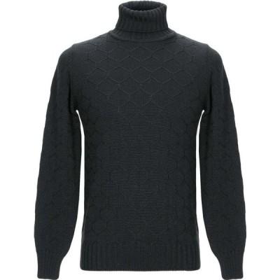エクシビット EXIBIT メンズ ニット・セーター トップス turtleneck Black
