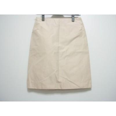 ポールカ PAULEKA スカート サイズ36 S レディース ベージュ【中古】