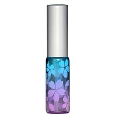 さくら咲く アトマイザー アルミキャップ グラデーションカラー プラスチックポンプ 58176 (MSサクラ ブルー/ピンク) 4ml