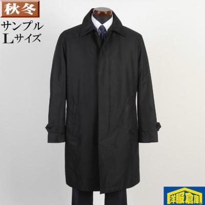 ステンカラー コート メンズ Lサイズ ライナー付き ビジネスコートシャドーストライプ柄 SG-L 8000 SC67071