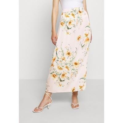 ヴィラ スカート レディース ボトムス VIRUA ZANNE MAXI SKIRT - Maxi skirt - light pink